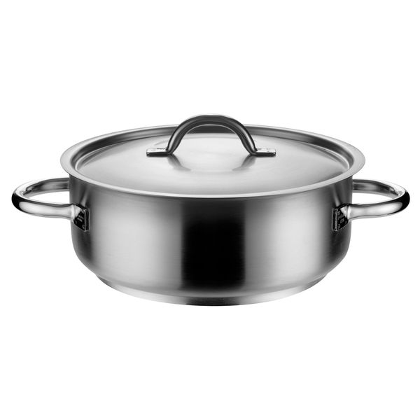 trenton international casserole with cover inox pro