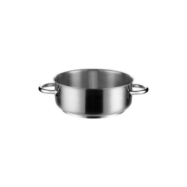 trenton international casserole without cover inox pro