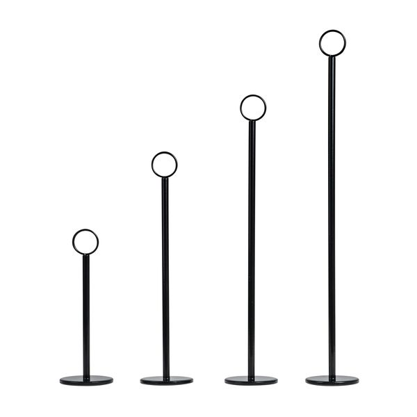 table number stands. ring clip table number stand stands