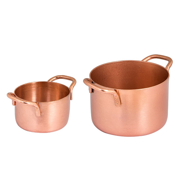 Brooklyn Mini Pans & Wok - Copper