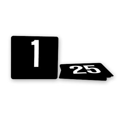 Plastic Food Service Table Numbers